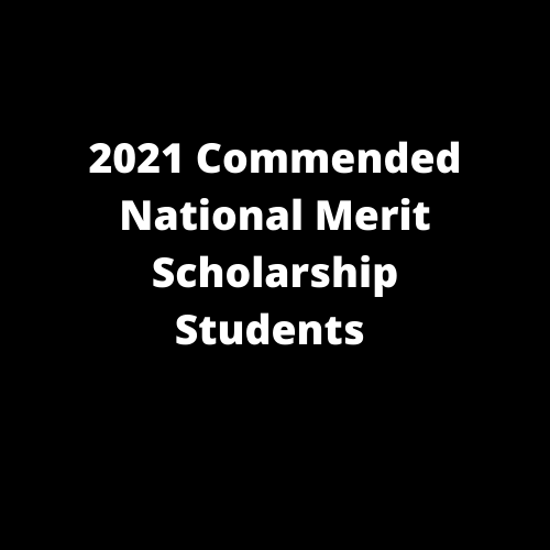 2021 National Merit Scholarship Students