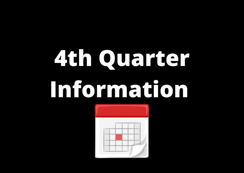 4th Quarter Information