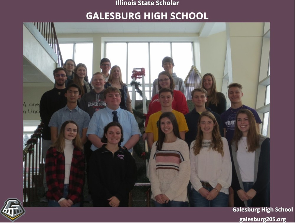20 Senior GHS Students Named IL State Scholars
