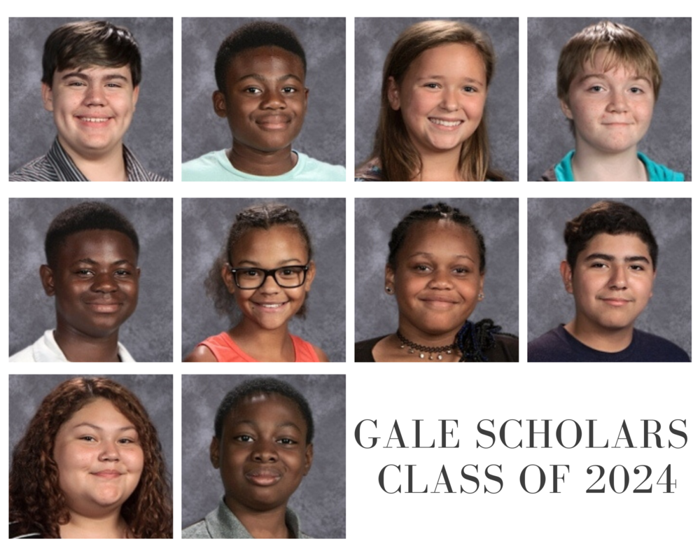 Congratulations to the Gale Scholars Class of 2024