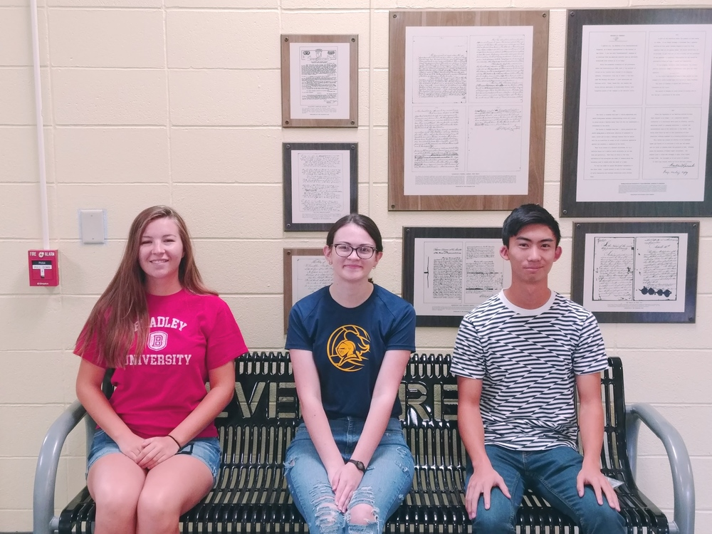 Three GHS Students Deemed Commended by National Merit Scholarship Corporation