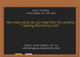 Enjoy our challenge of the day for 3/30/20!