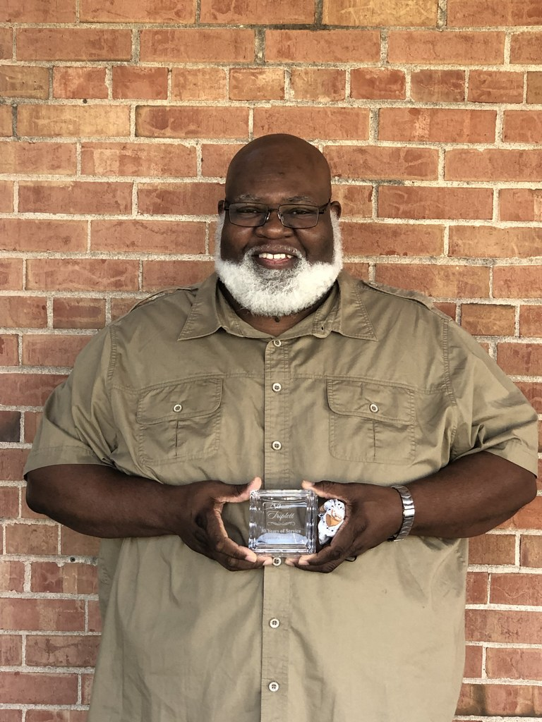 Mr. Triplett 30 years of Service