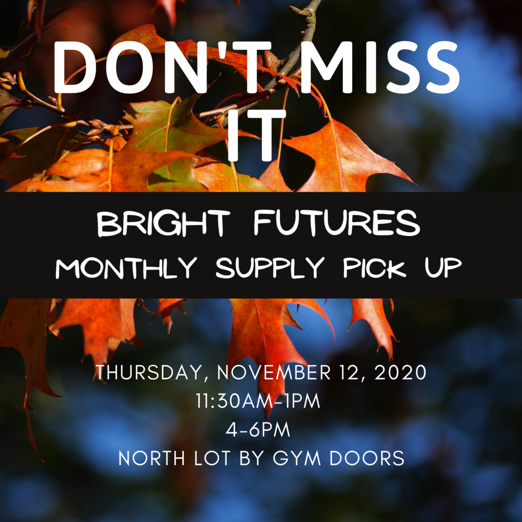 Bright Futures Monthly Supply Pick Up
