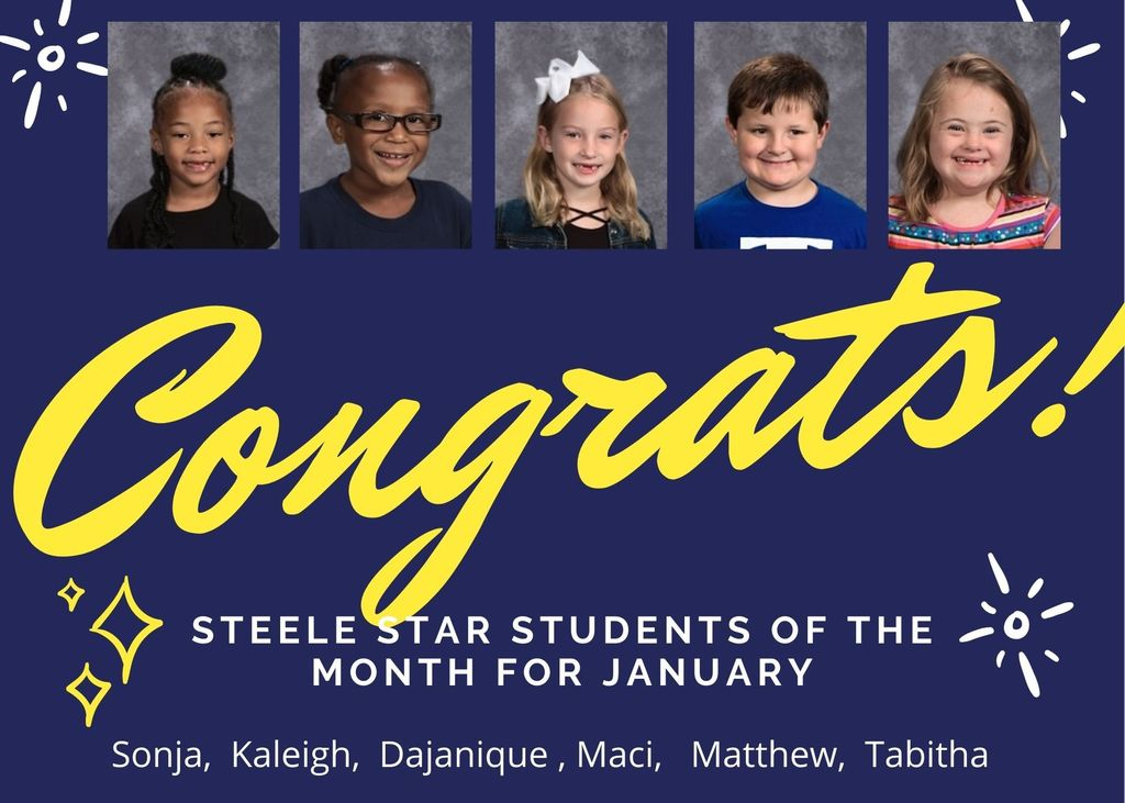 January Steele Star Students