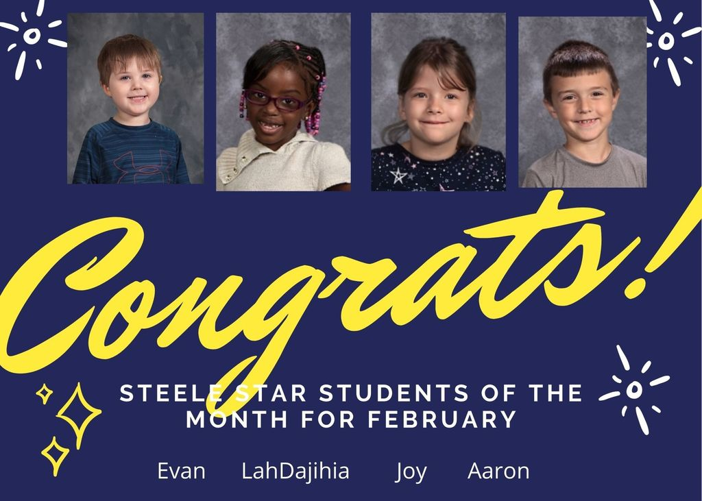 Steele Star Students February