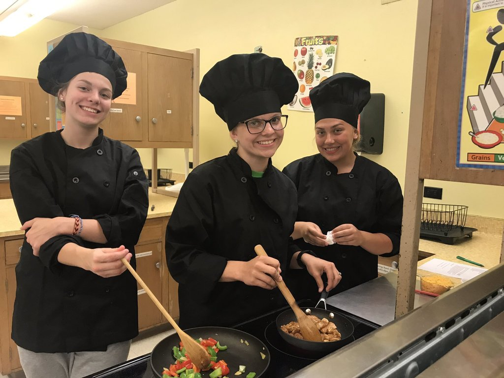 GAVC Culinary Students