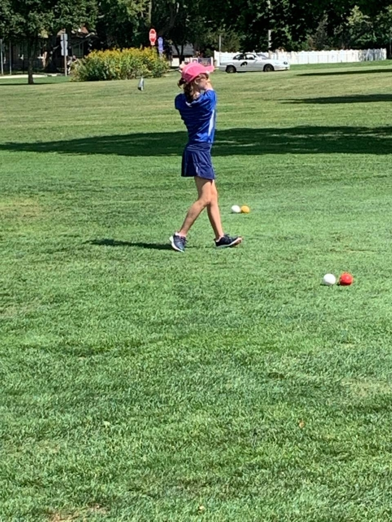Follow through at the Sectional golf meet.