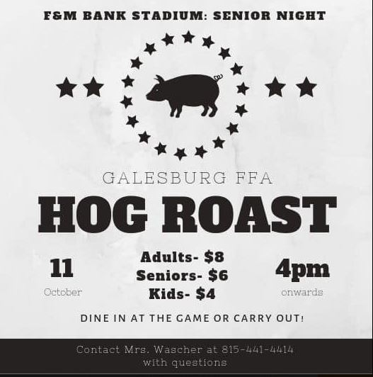 GHS FFA Hog Roast Event