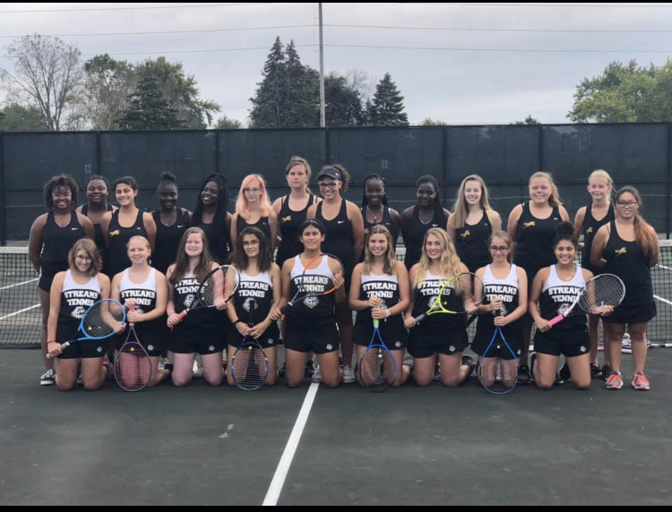 GHS girls tennis