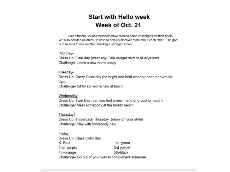 Start With Hello Week '19