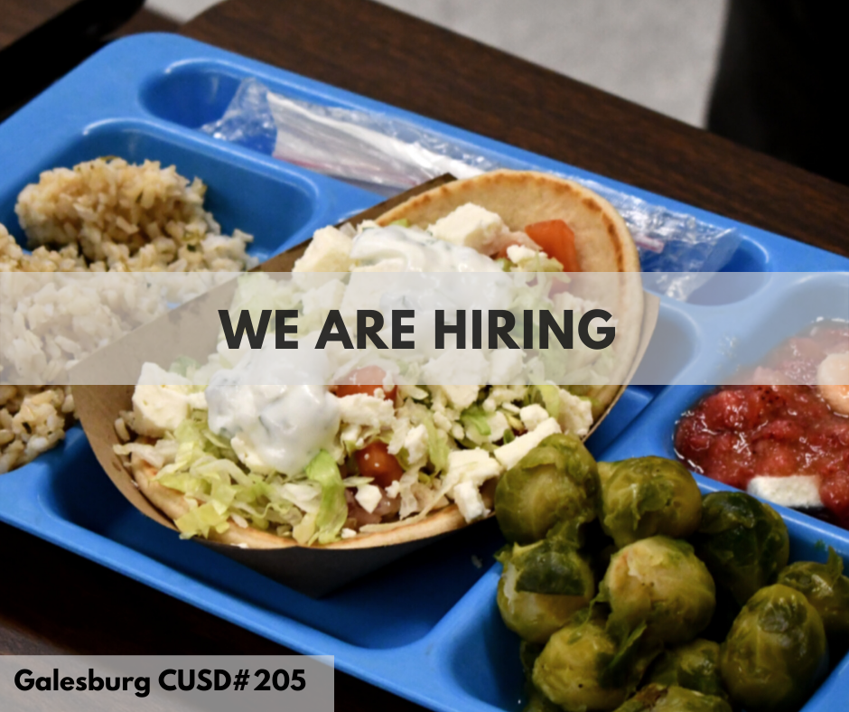 Food Service is Hiring at CUSD #05