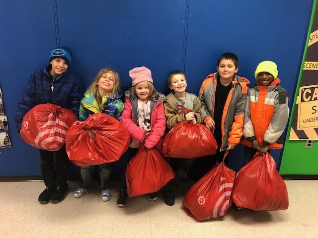 Thank you for the special shopping trip to Target Kiwanis Club of Galesburg!