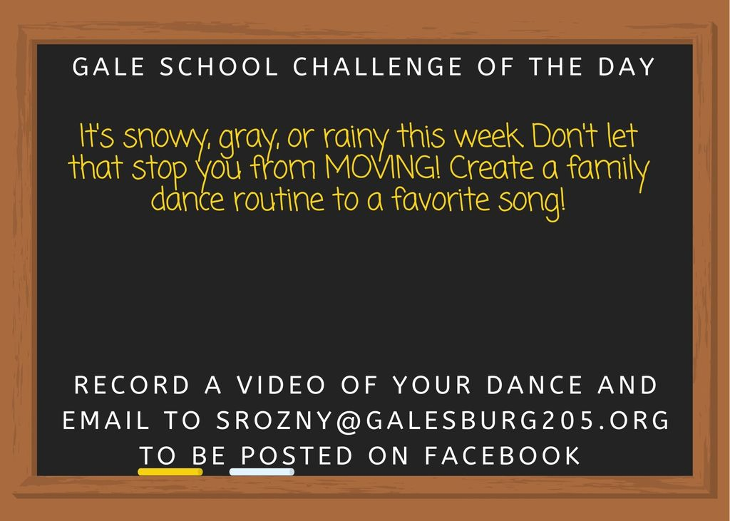 Create a family dance routine to your favorite song!