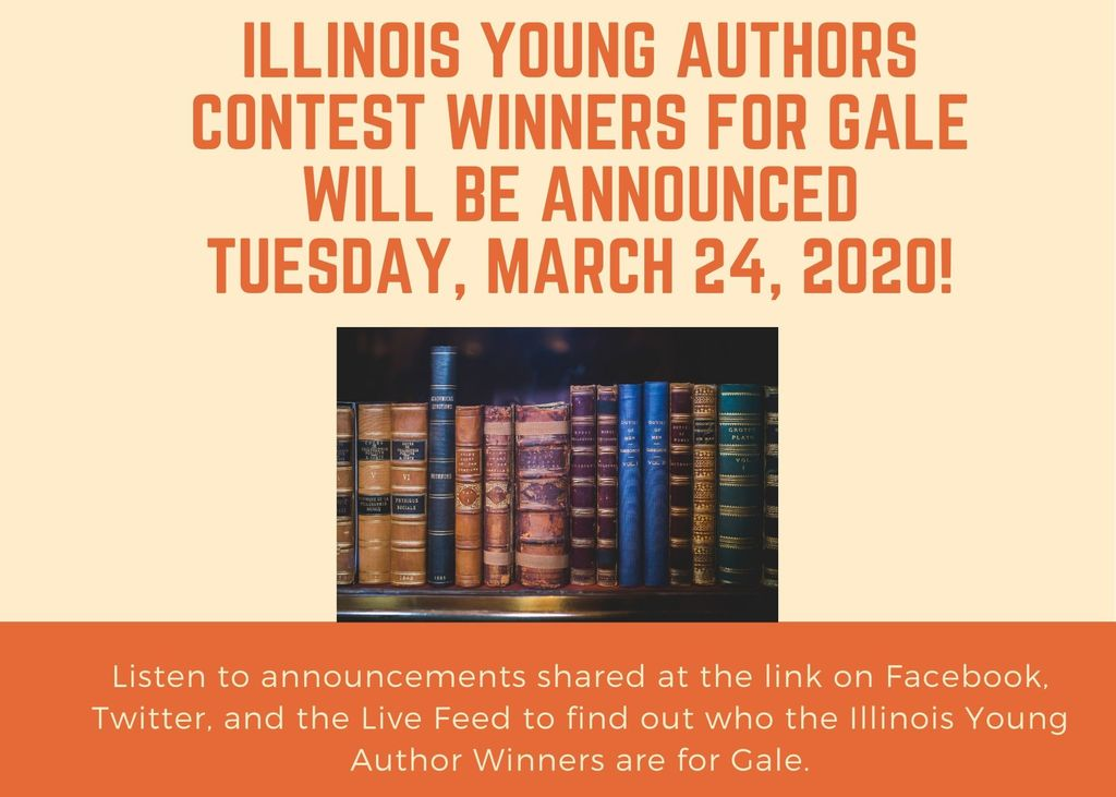 Illinois Young Authors Contest Winners Announced 3/24