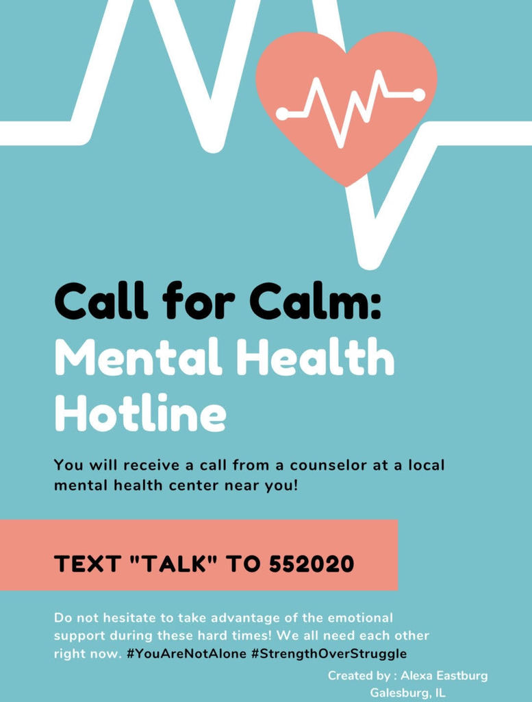 "If you need any help or assistance, please text ""Talk"" to 552020"