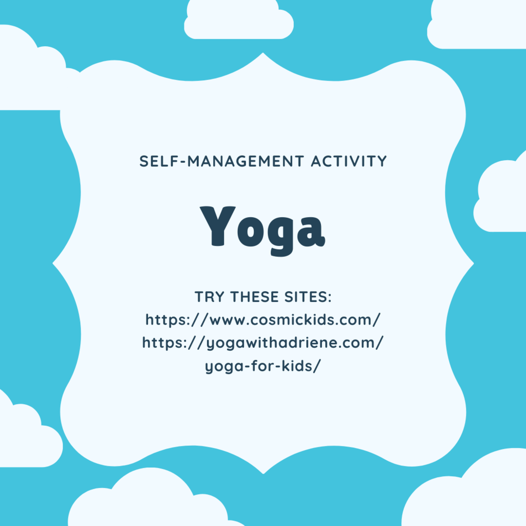 Yoga as a self-management activity!