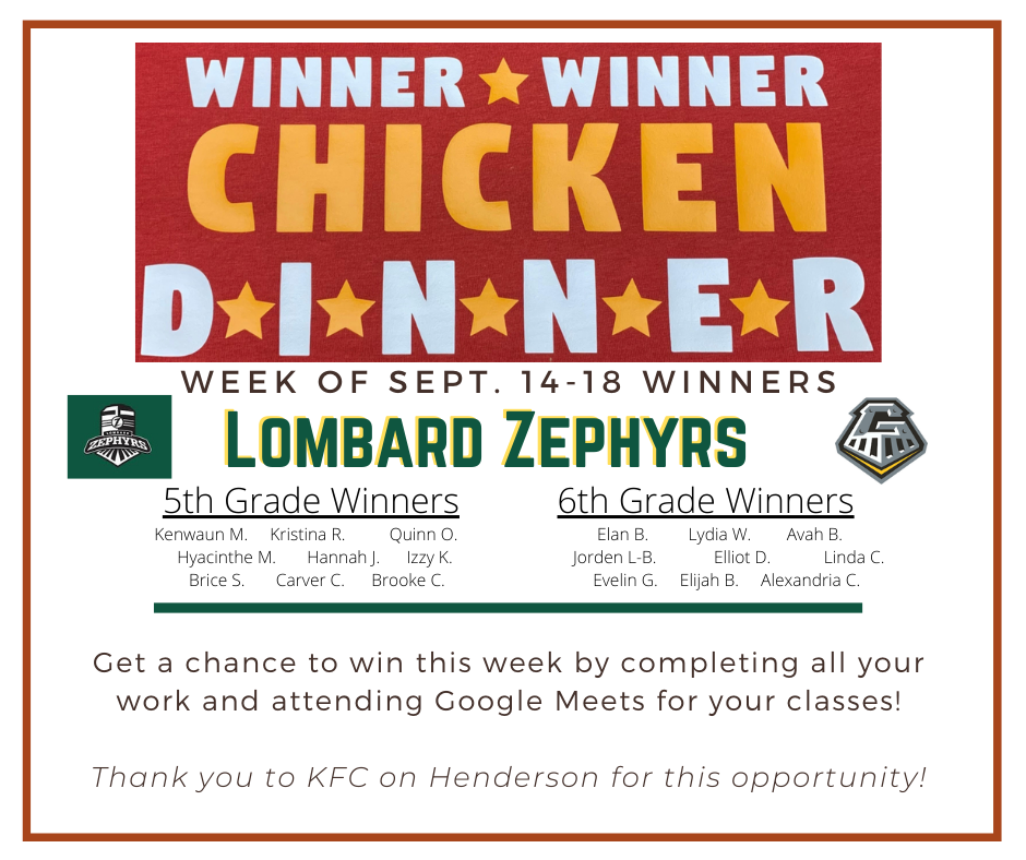 WINNER WINNER CHICKEN DINNNER