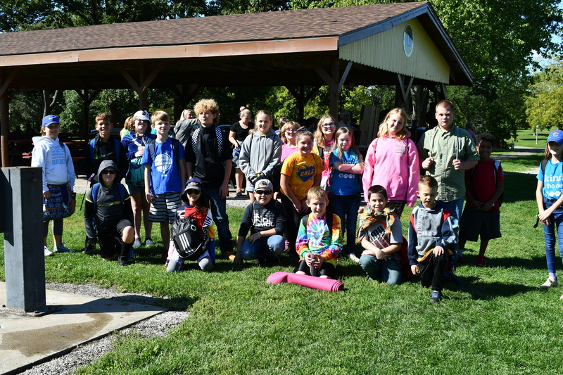 5th Grade Students at Outdoor Education Day